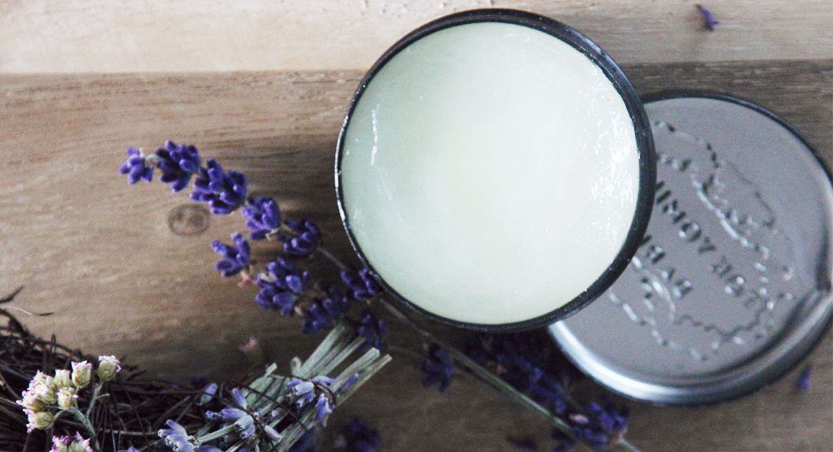 The Easiest DIY Natural Deodorant