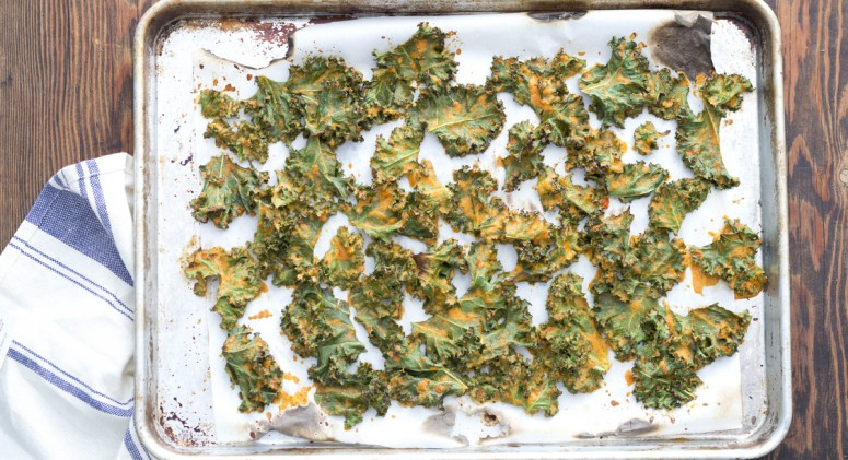 'Nacho' Flavored Kale Chips That Pack A Nutritional Punch