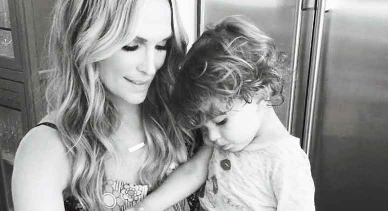 Molly Sims' Morning Routine