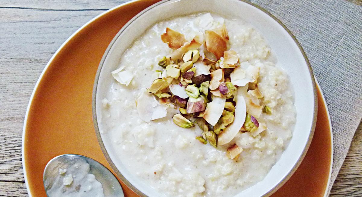Healthy Breakfast: Gluten-Free Millet Bowl