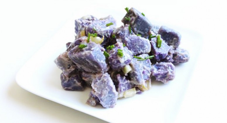 Primal Purple Potato Salad