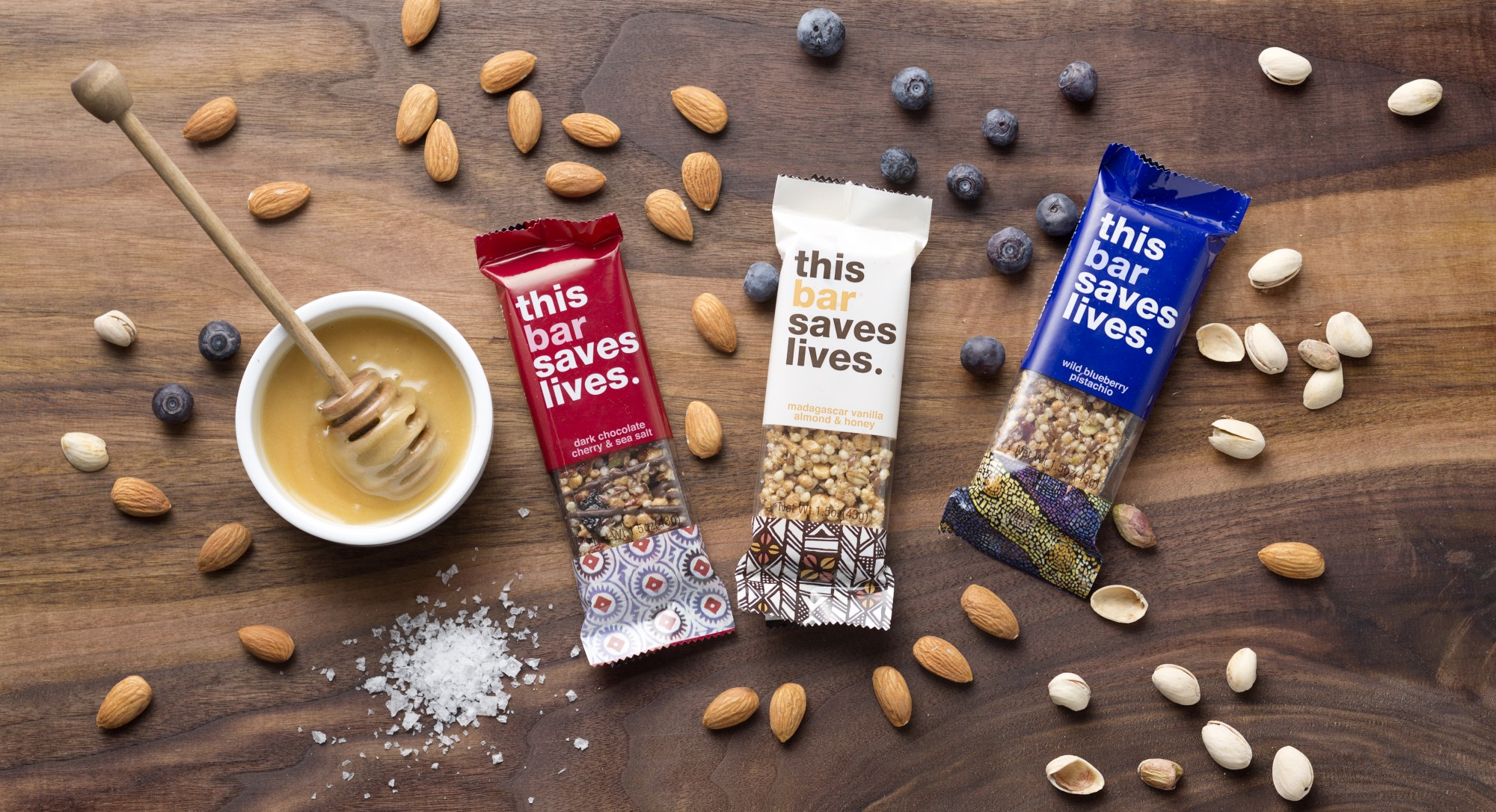 This Bar Saves Lives: A Snack With A Mission