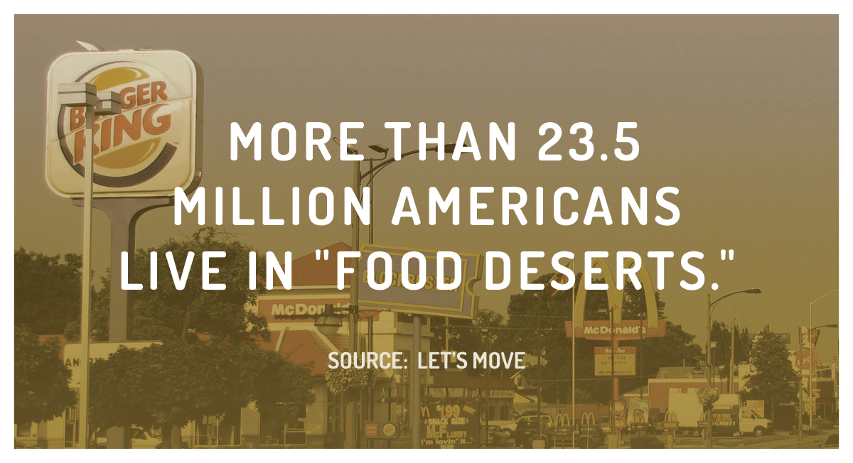Staggering Statistic: The Food Desert Epidemic