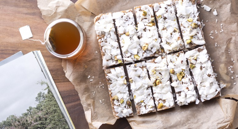 Toasted Coconut Bars Recipe