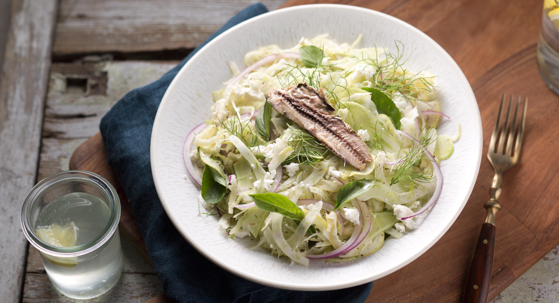 Lemon-Fennel Sardine Salad