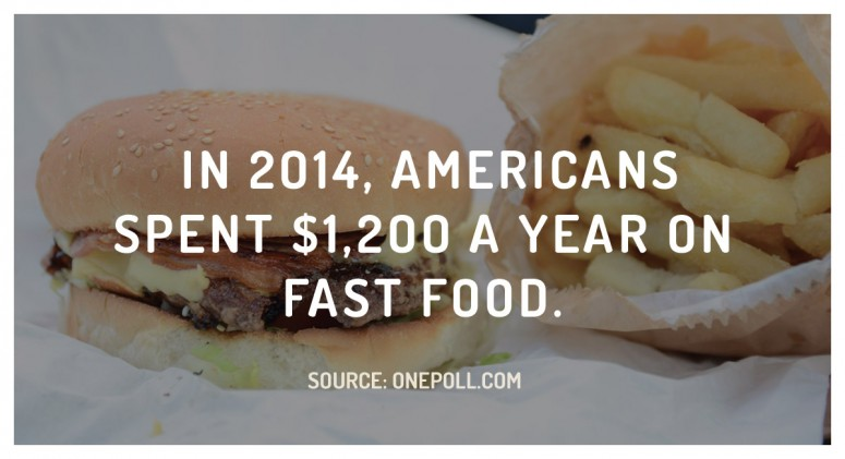 Staggering Statistic: America's Fast Food Habit