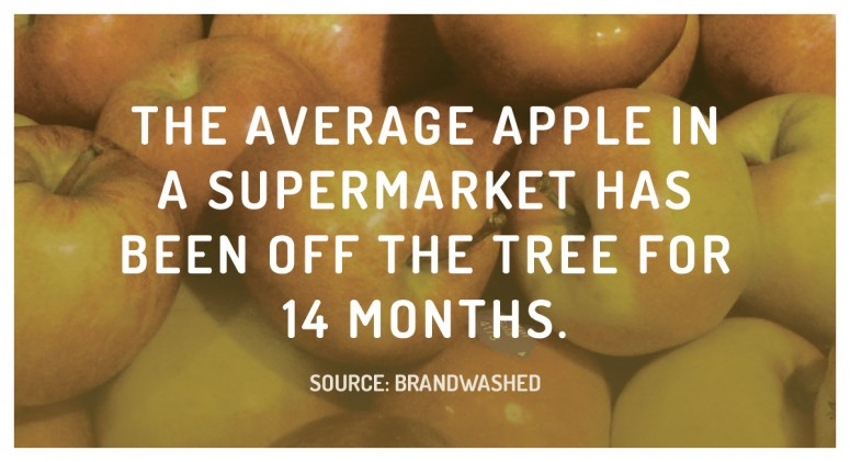 Staggering Statistic: How Old Is That Apple?