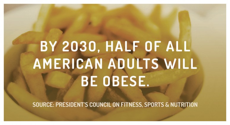 Staggering Statistic: In 15 Years, Obesity Will Be Normal