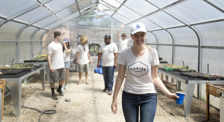 Thrive IRL: Volunteering With the Garden School Foundation