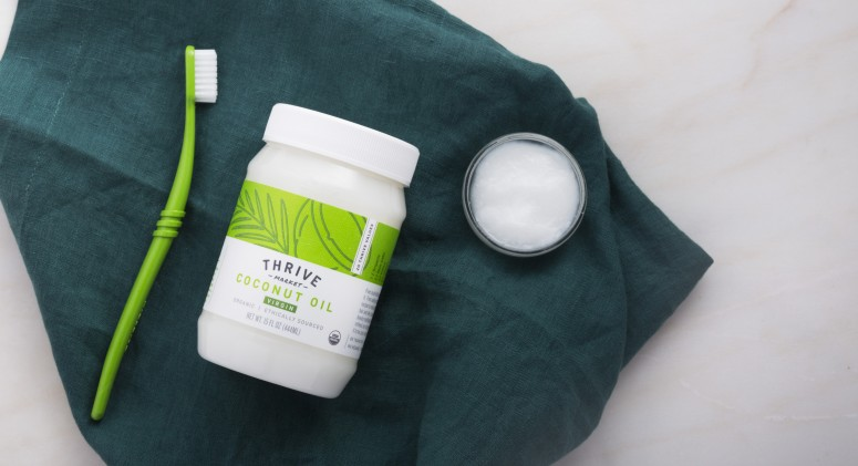 Thrive Tries It: Oil Pulling For A Brighter, Whiter Smile