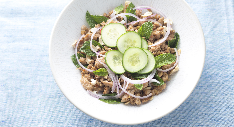 Chicken Laab (Chicken and Herb Salad)