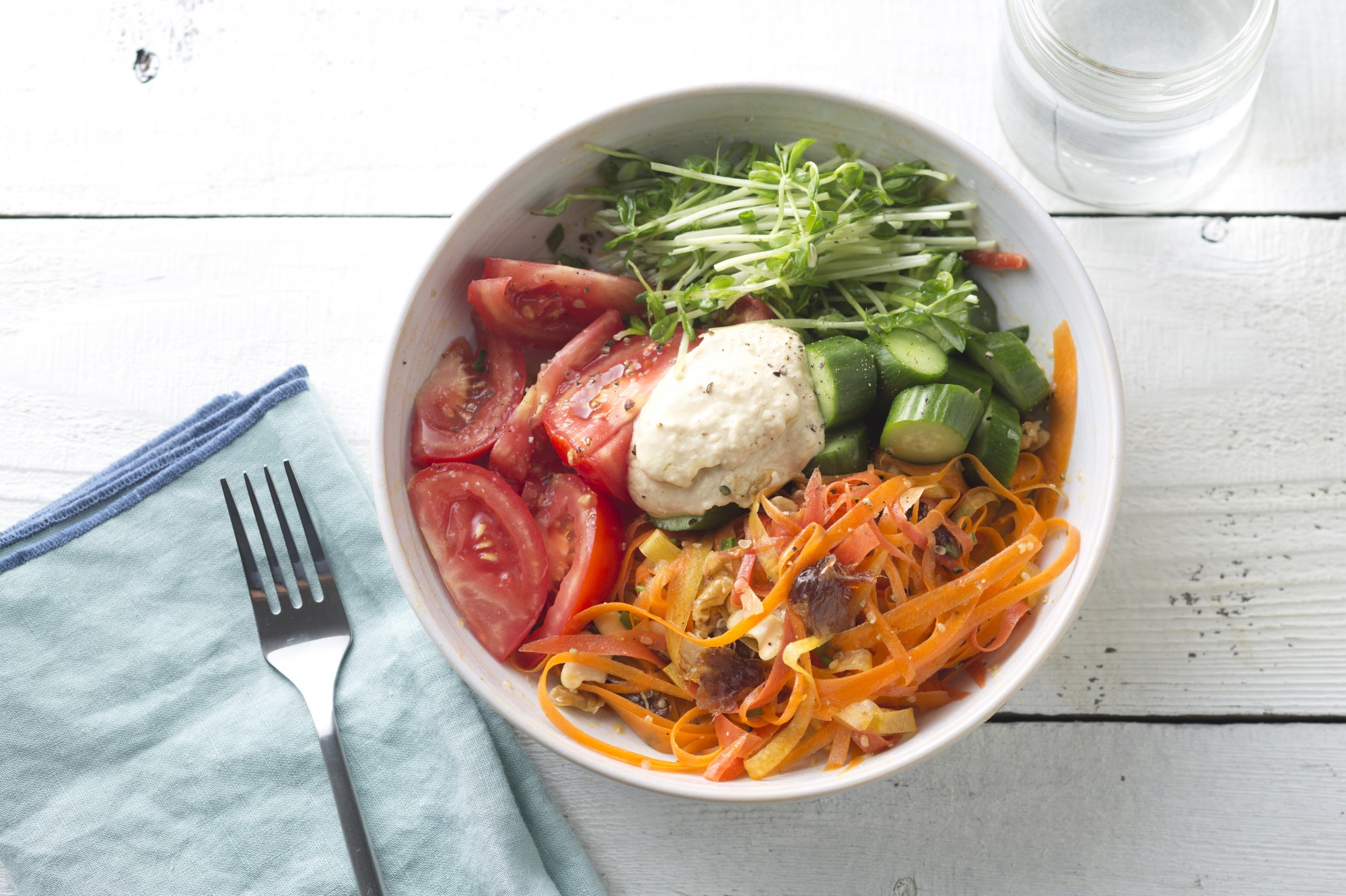 Grain-Free Vegetable Wellness Bowl