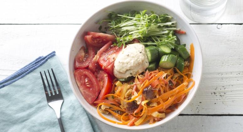 Grain-Free Vegetable Wellness Bowl