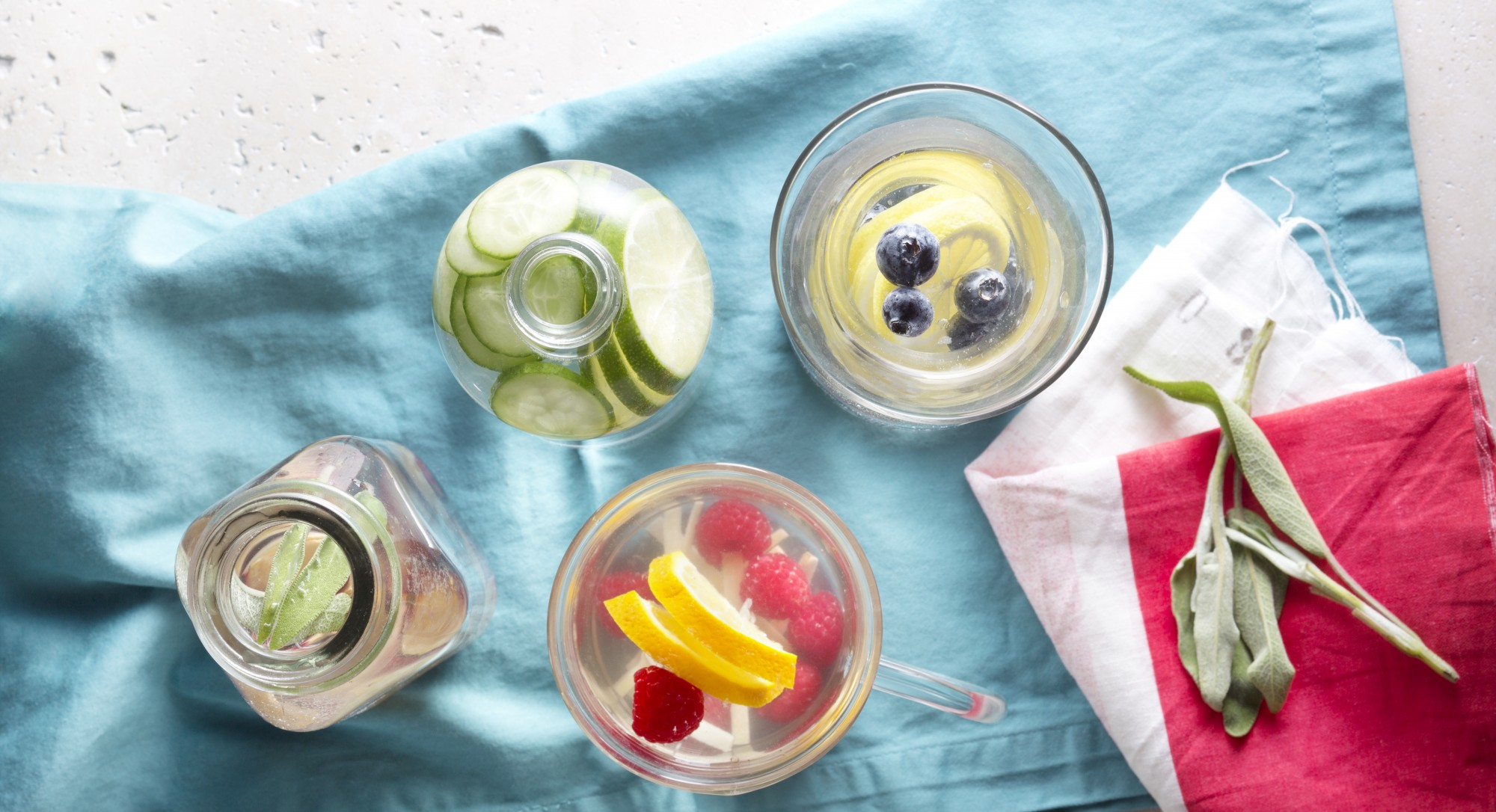 Kick Back and Relax With These Fruit-Infused Coconut Waters