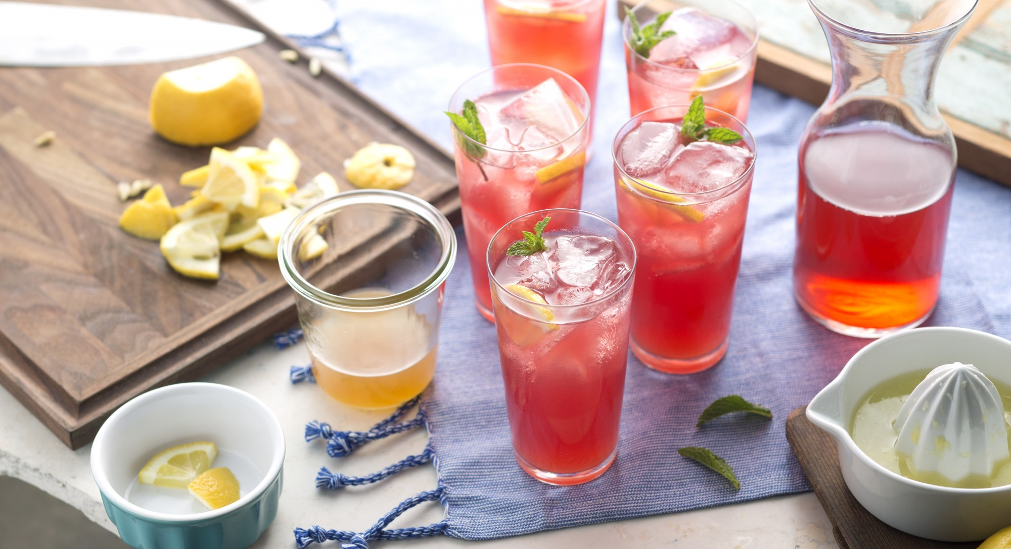 A Bright Twist on a Classic Summer Drink
