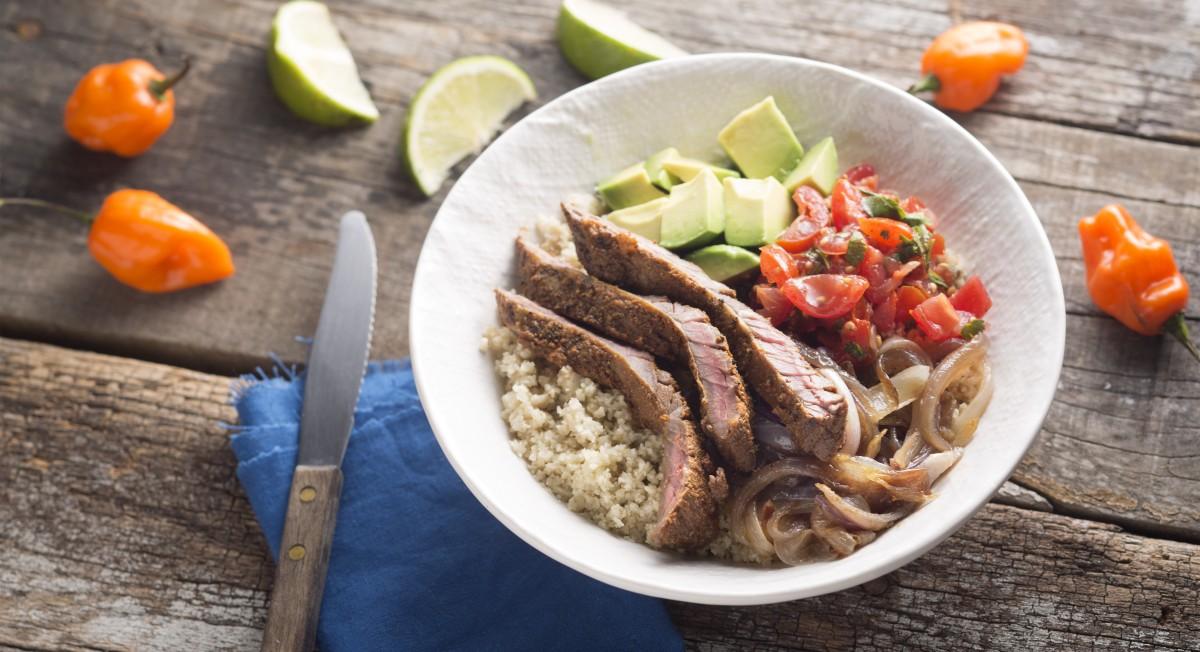 Paleo burrito bowl