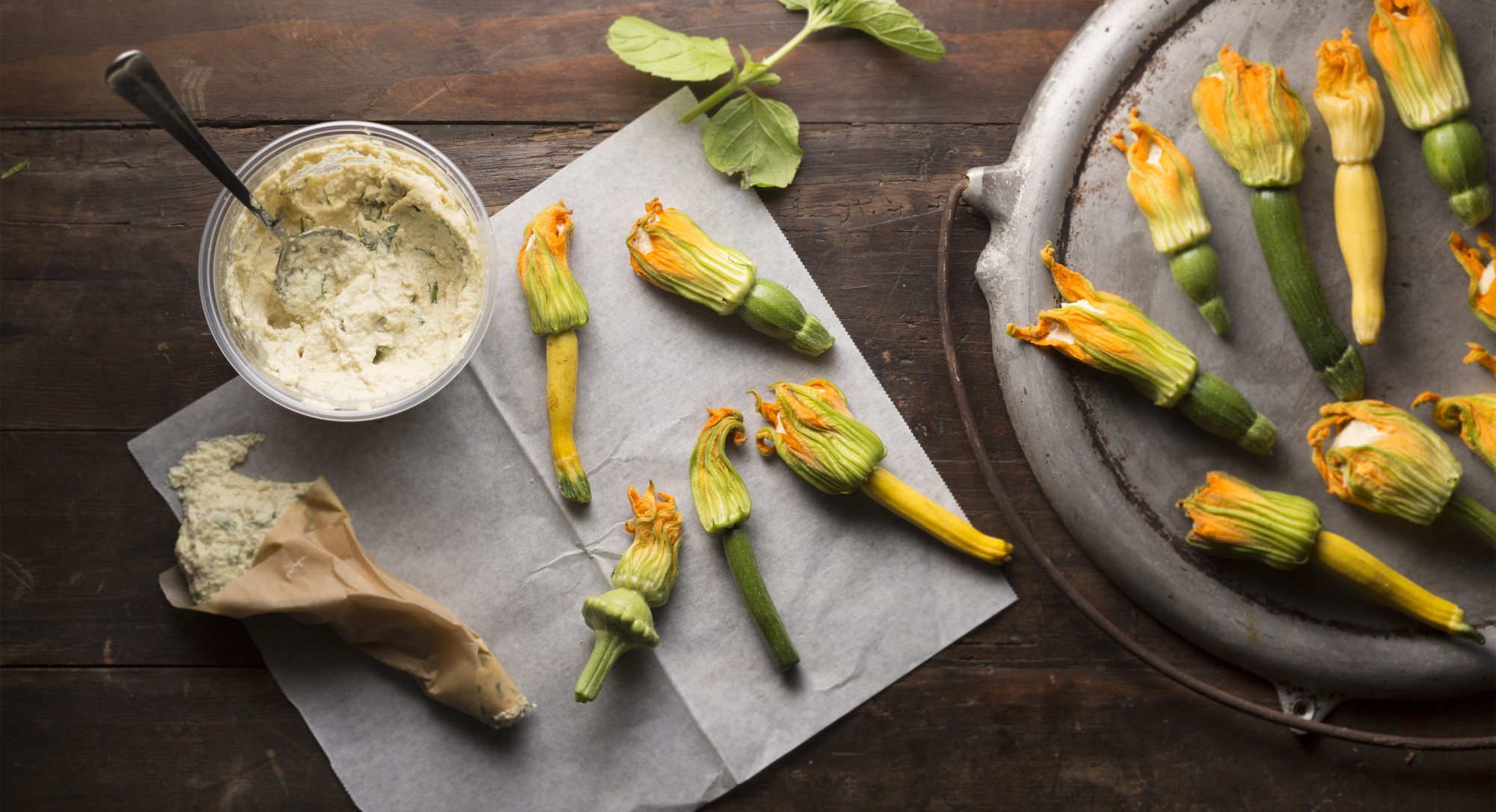 Farmers Market Find: A Fresh Twist on Stuffed Squash Blossoms