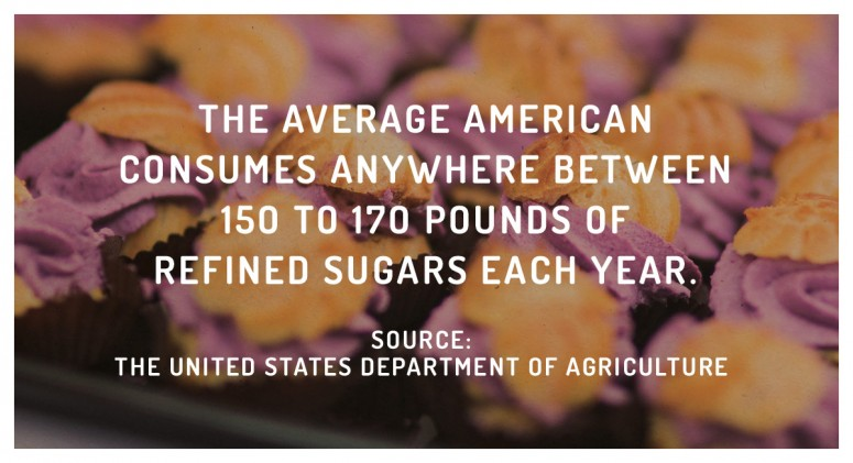 Staggering Statistic: That's a Whole Lotta Sugar