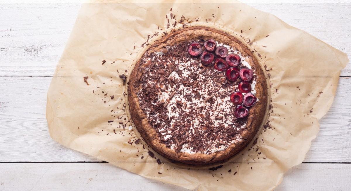 Chocolate cherry torte