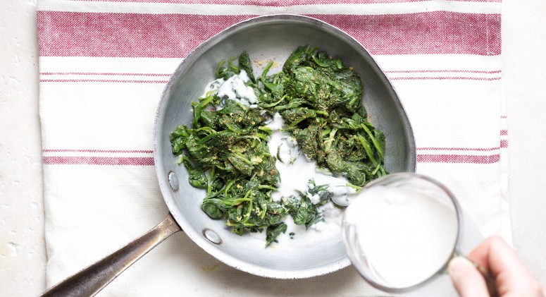 The Secret to Delicious Creamed Spinach—Without Any Dairy