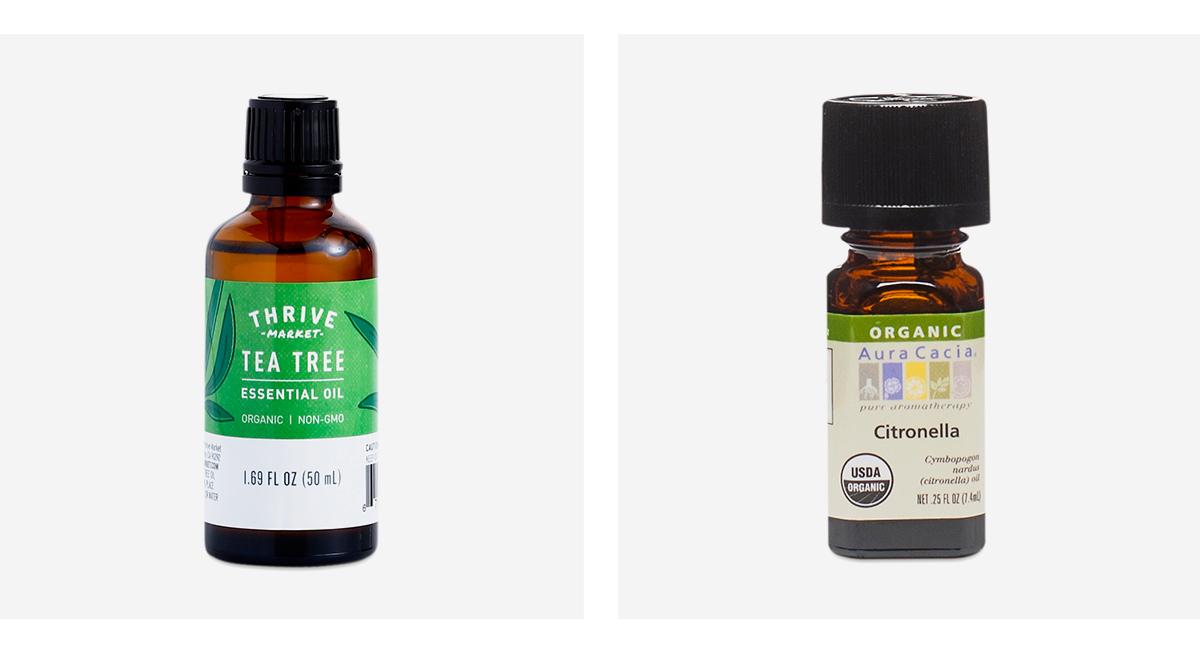 Citronella & Tea Tree Essential Oils Blend