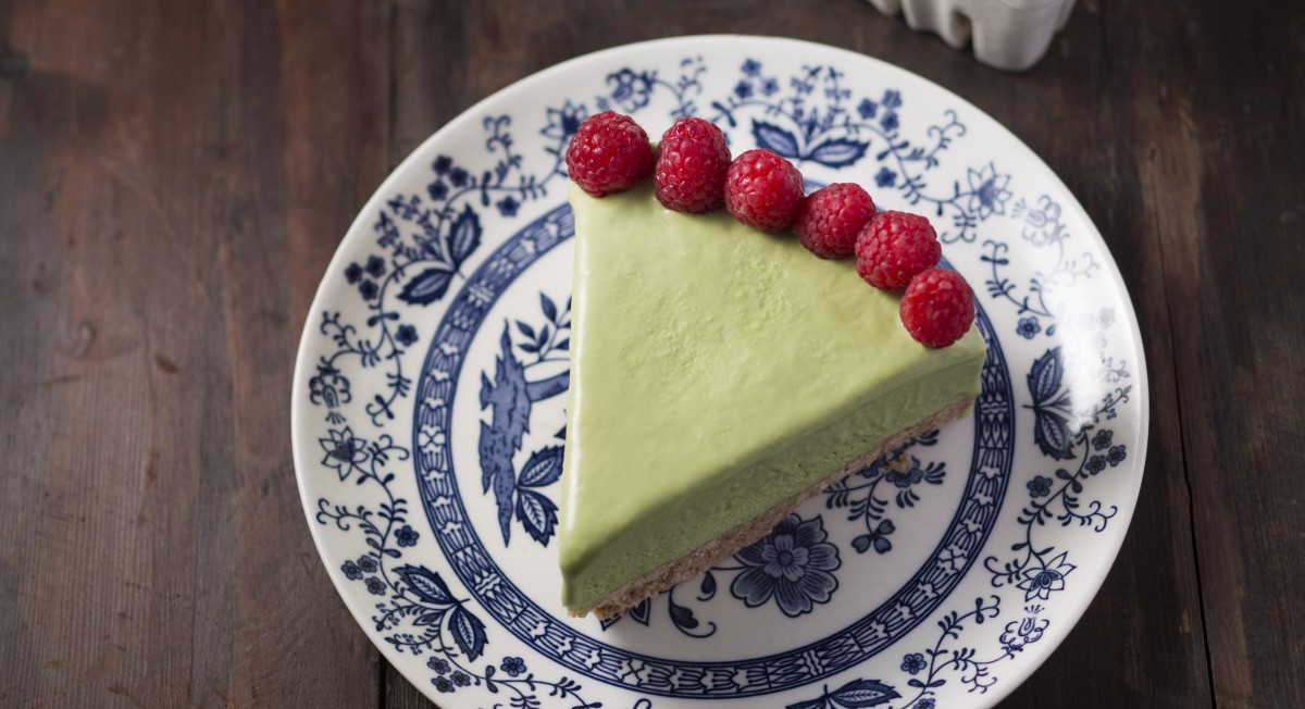 Matcha ice cream cake