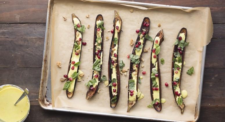 Farmers Market Find: An Elegant Eggplant Appetizer