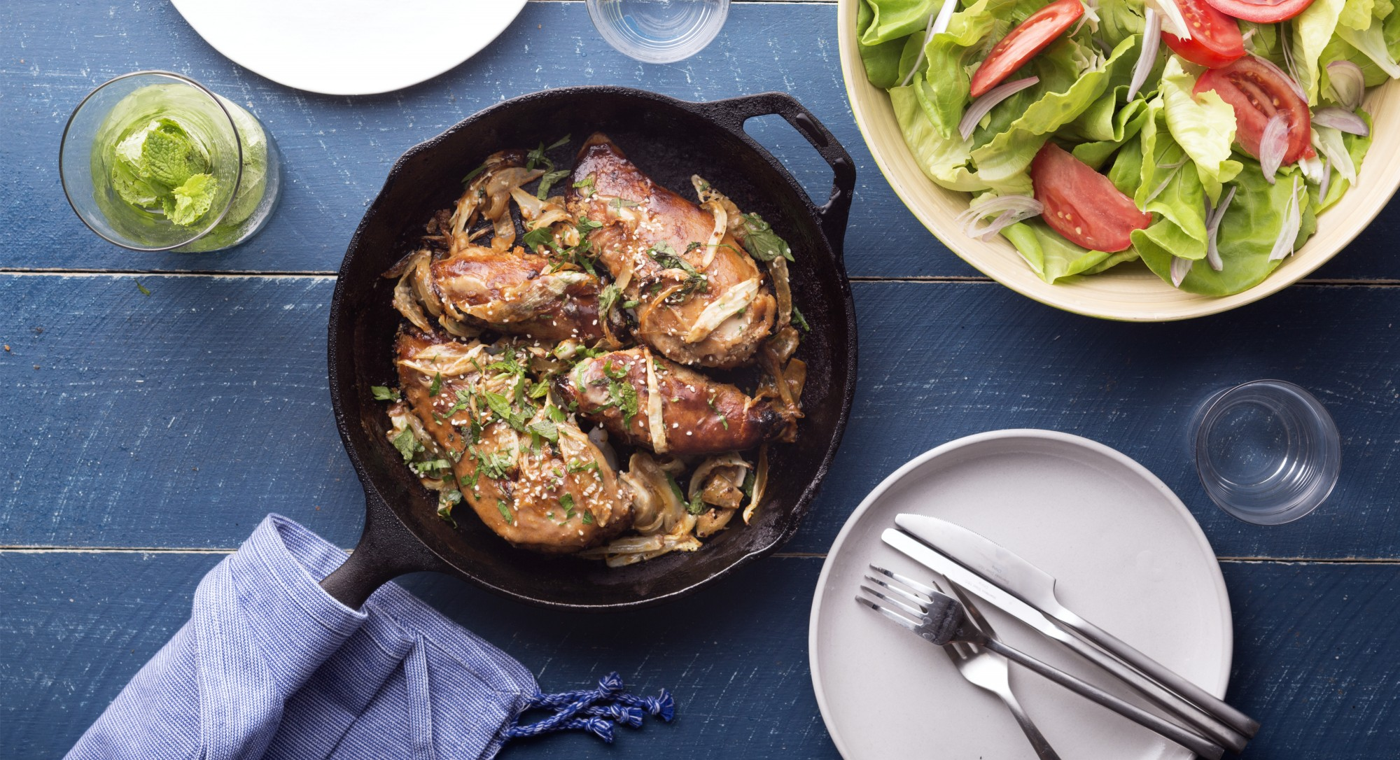 Transform Roasted Chicken Into a Mediterranean Showstopper