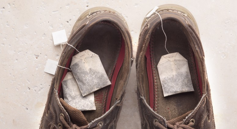 Tip of the Week: Use Tea Bags To Keep Your Shoes Fresh