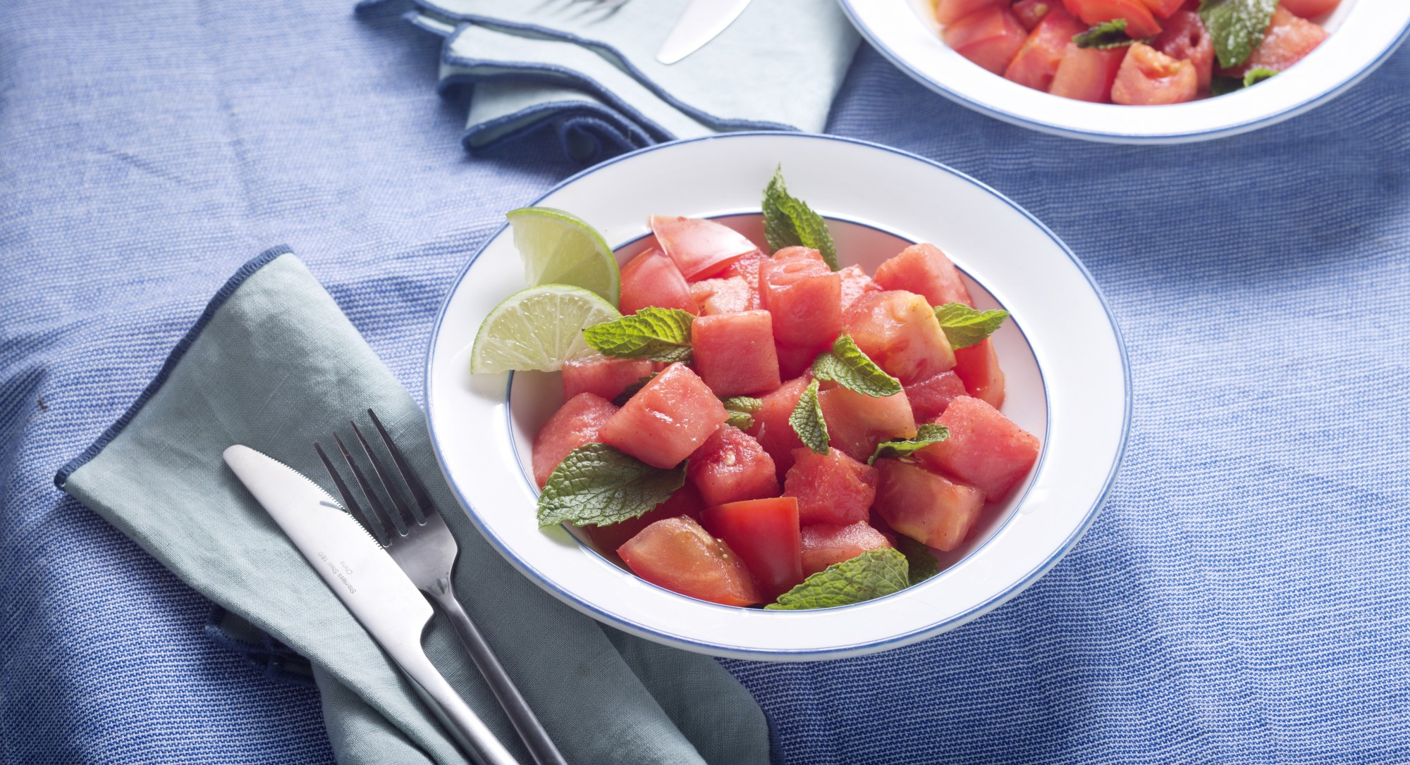 Farmers Market Find: Watermelon Tomato Salad