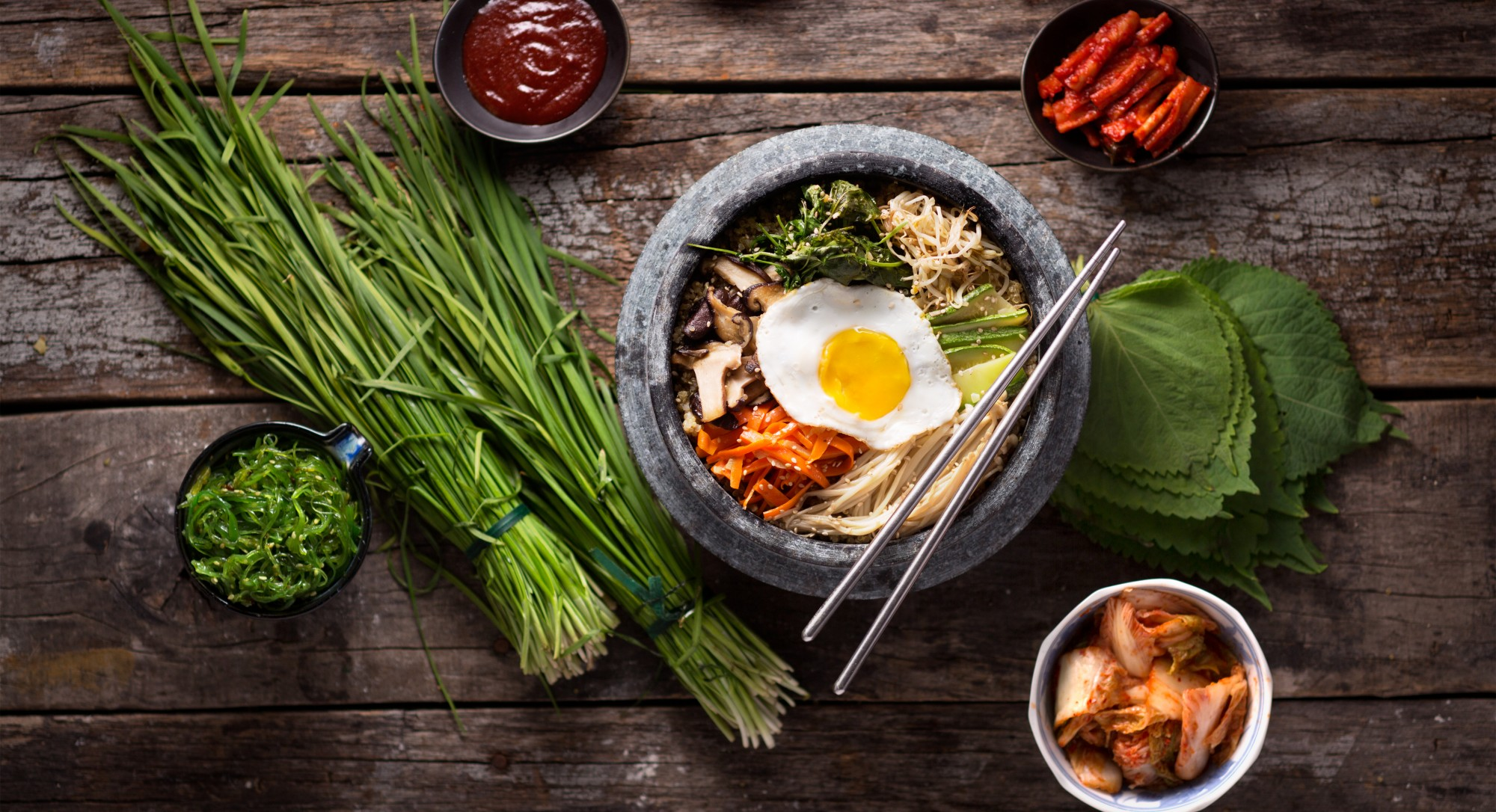 Energy Up! A Classic Korean Bowl Gets a Powerful Protein Punch