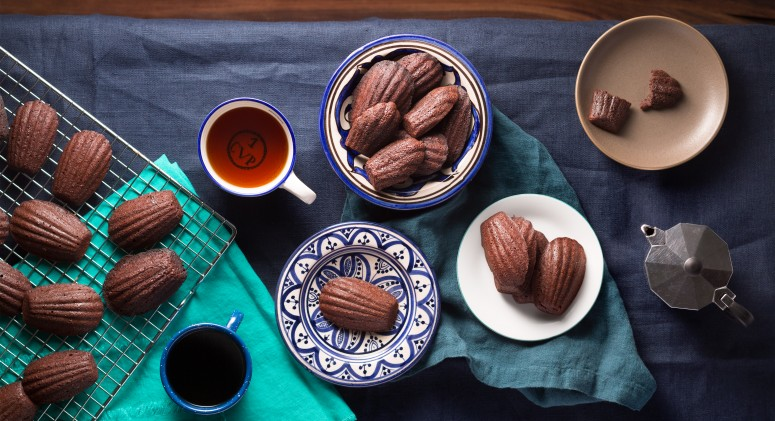 Dark Chocolate Puts a Decadent Spin on Classic Madeleines