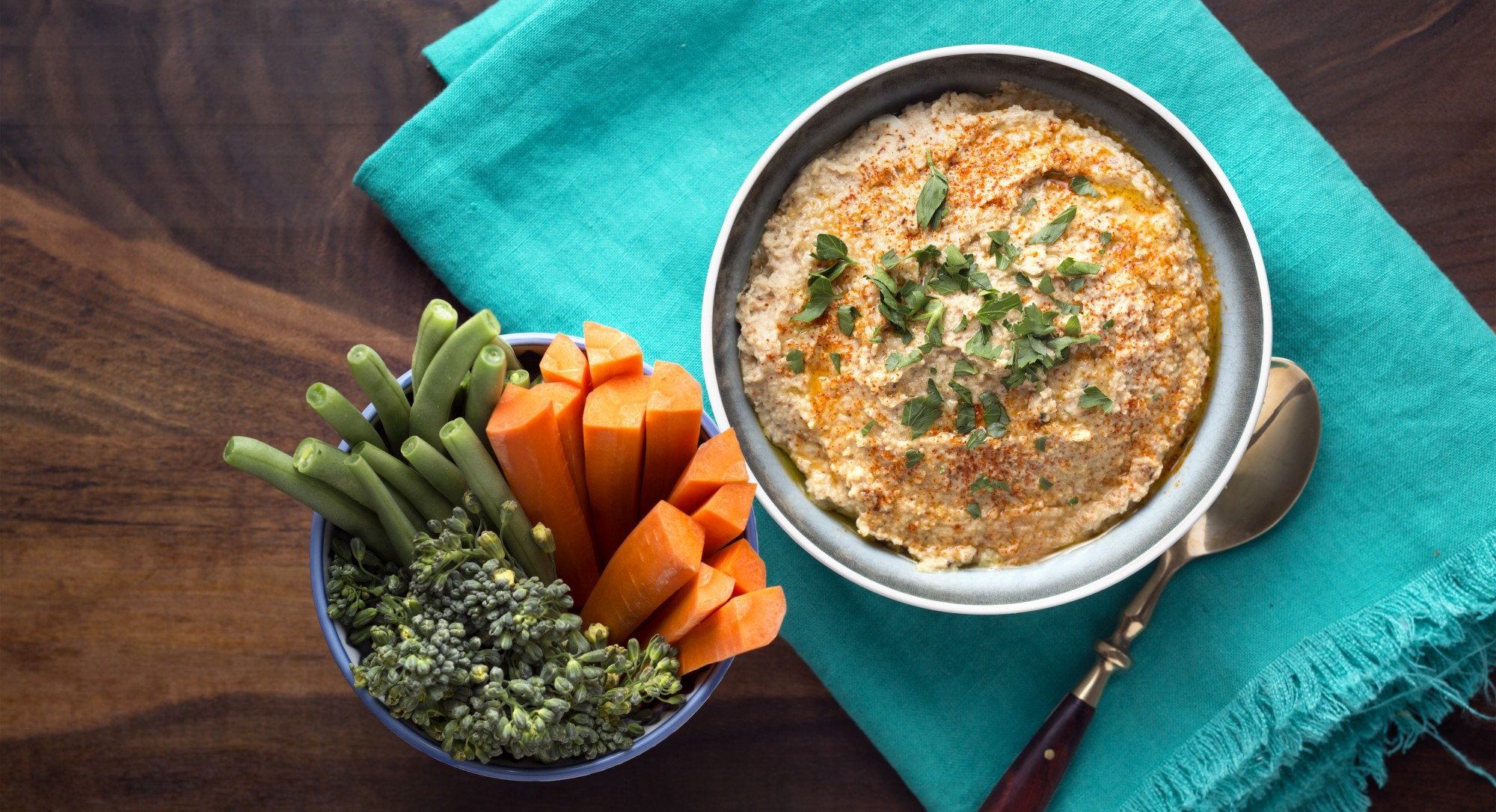 Discover the Delicious Secret Behind This Lightened-Up Hummus