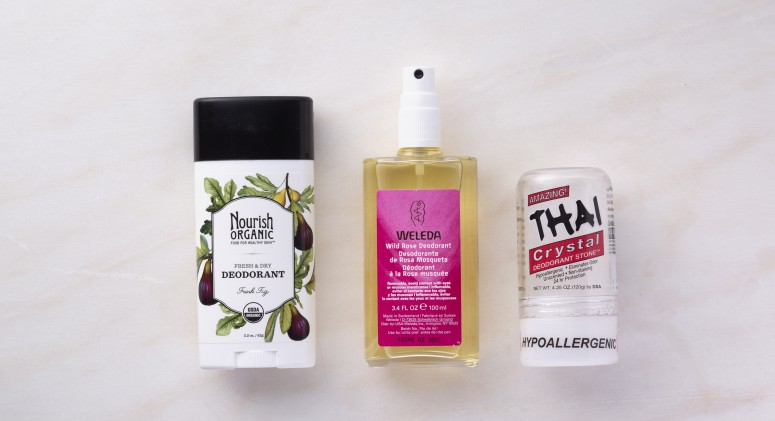 Thrive Tries It: We Test 3 Natural Deodorants