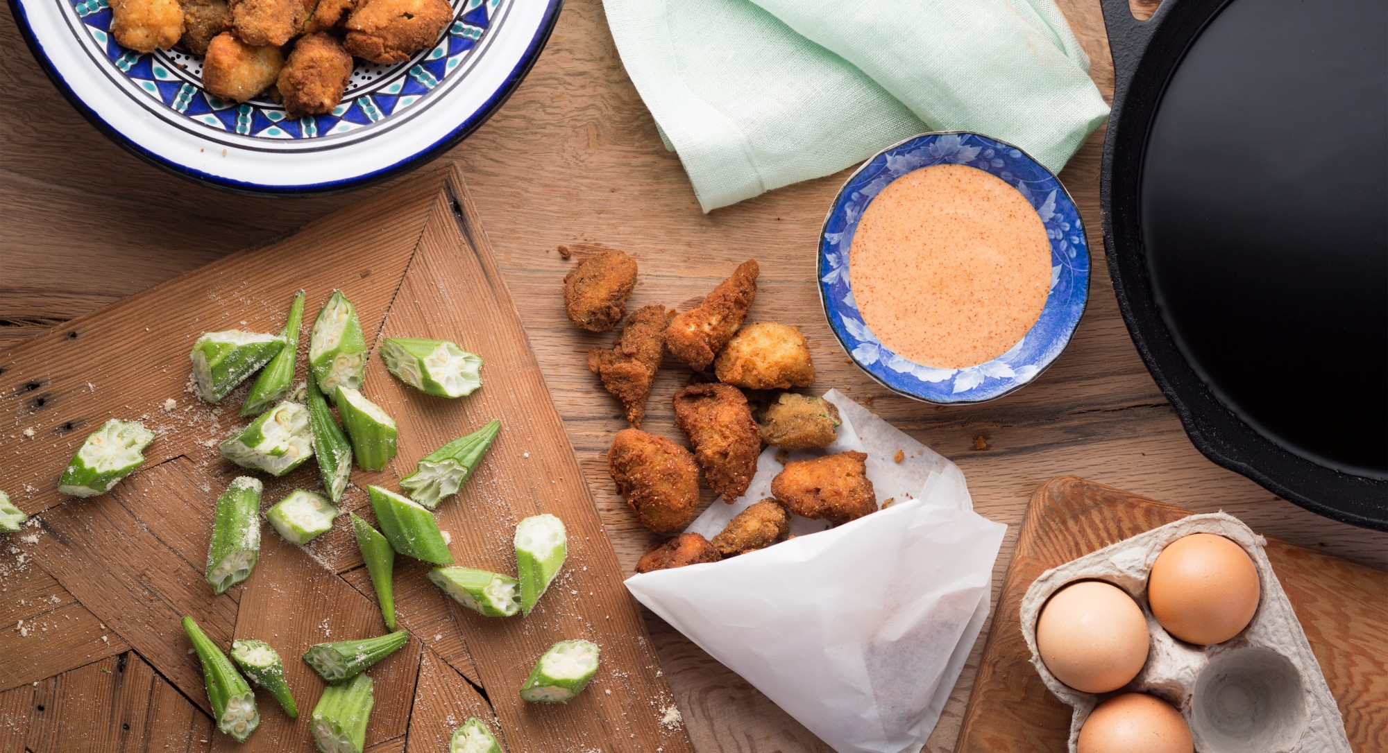 This Gluten-Free Take on Fried Okra Will Rock Your World