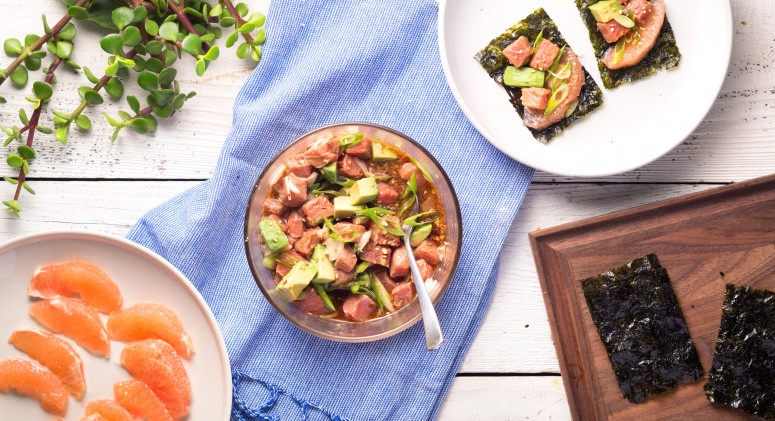 Bring a Taste of Hawaii to Your Table With This Citrusy Poke