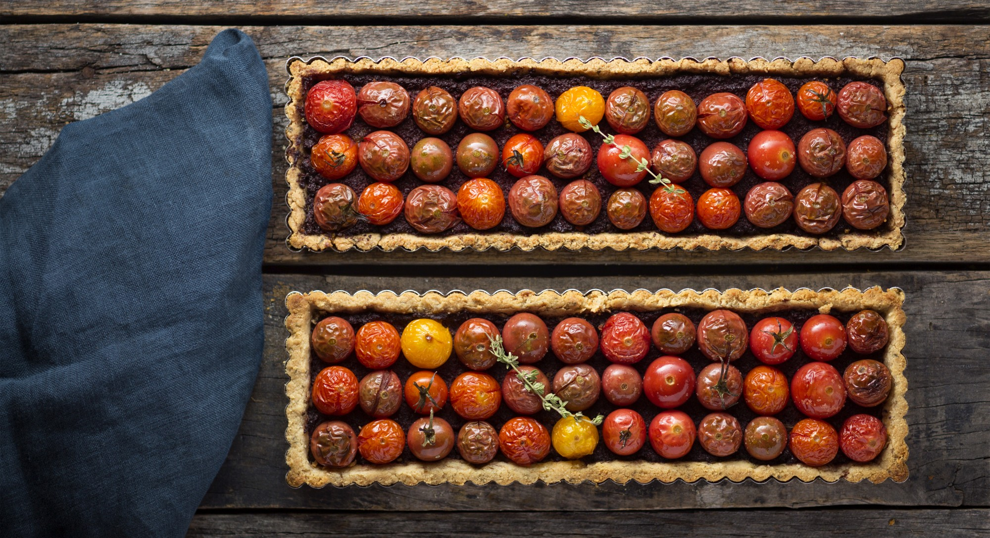 Serve This Gorgeous Tapenade Tart And Watch Your Dinner Guests Go Wild