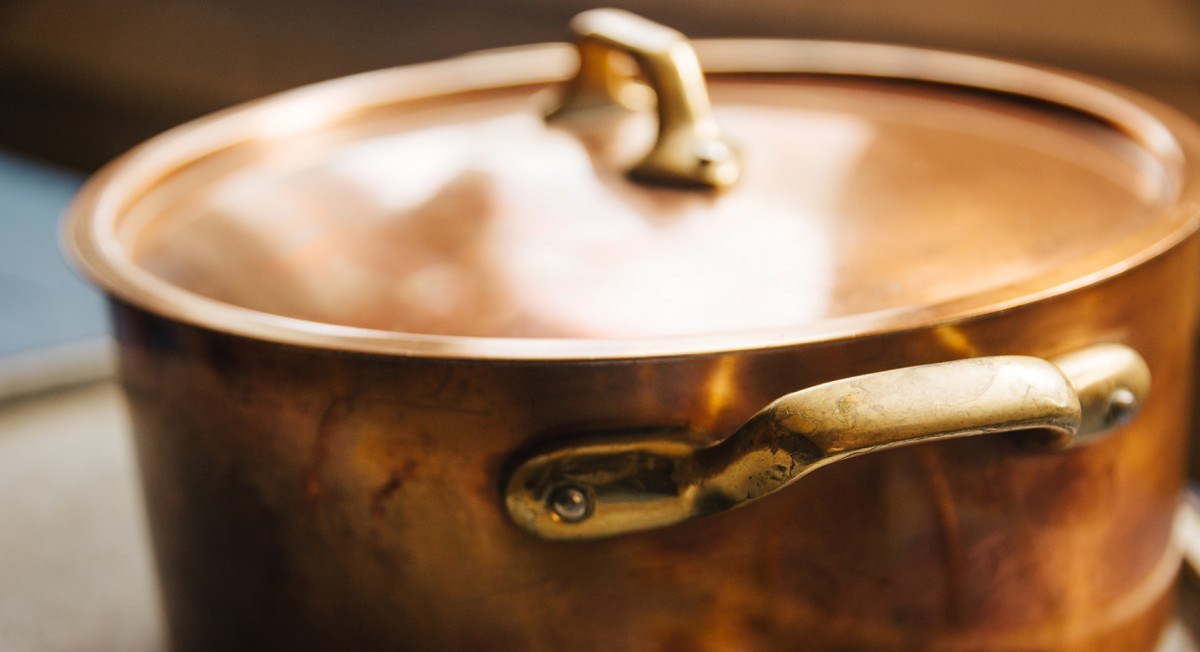 Tip of the Week: This Secret Trick Makes Polishing Copper Pans a Snap