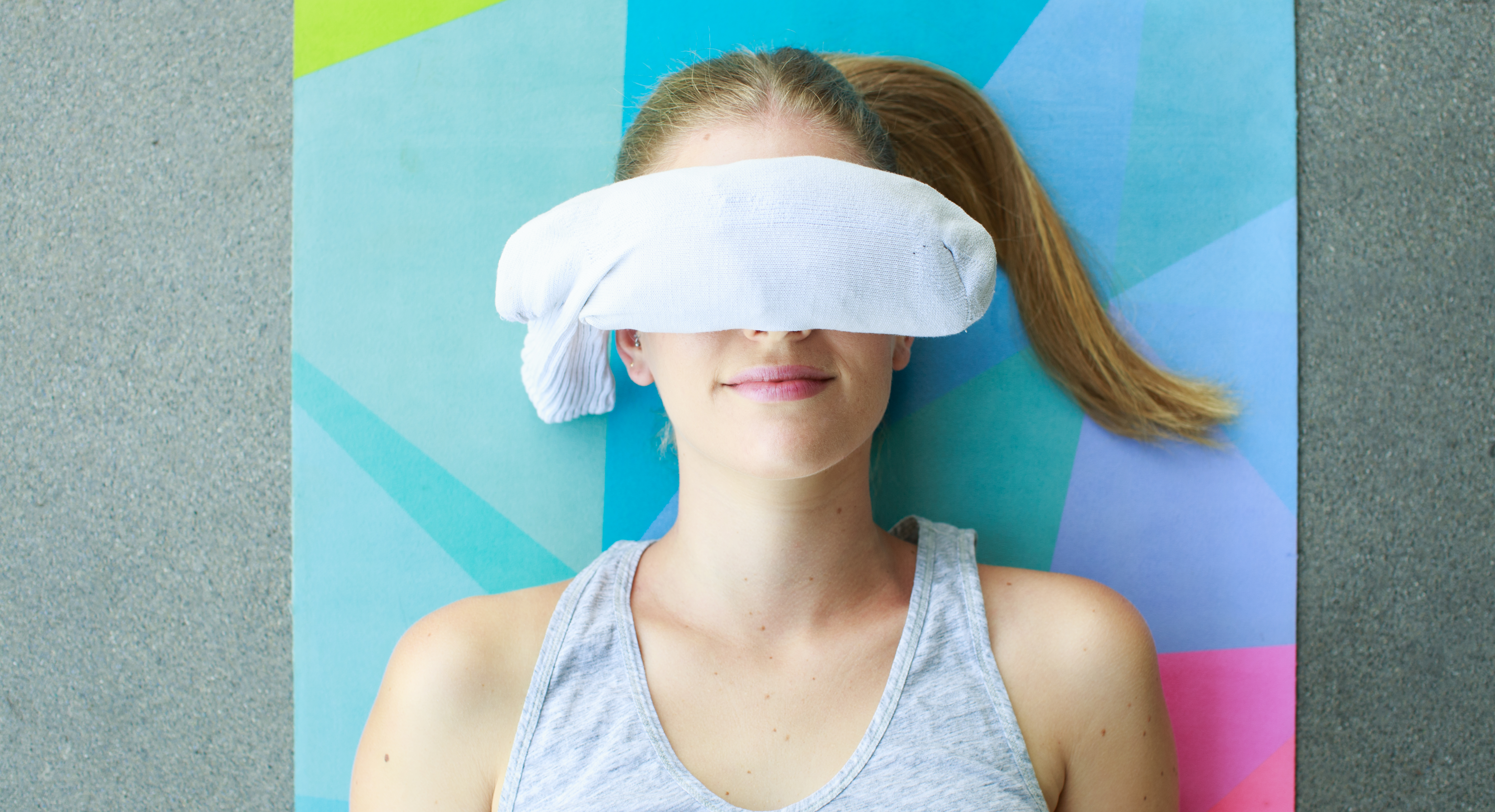 Make This DIY Yoga Eye Pillow For the Most Relaxing Meditation Ever