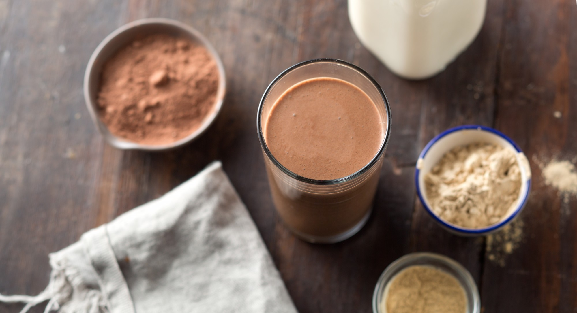 Who Needs Coffee When You Can Start the Day With Superfood Chocolate Milk?