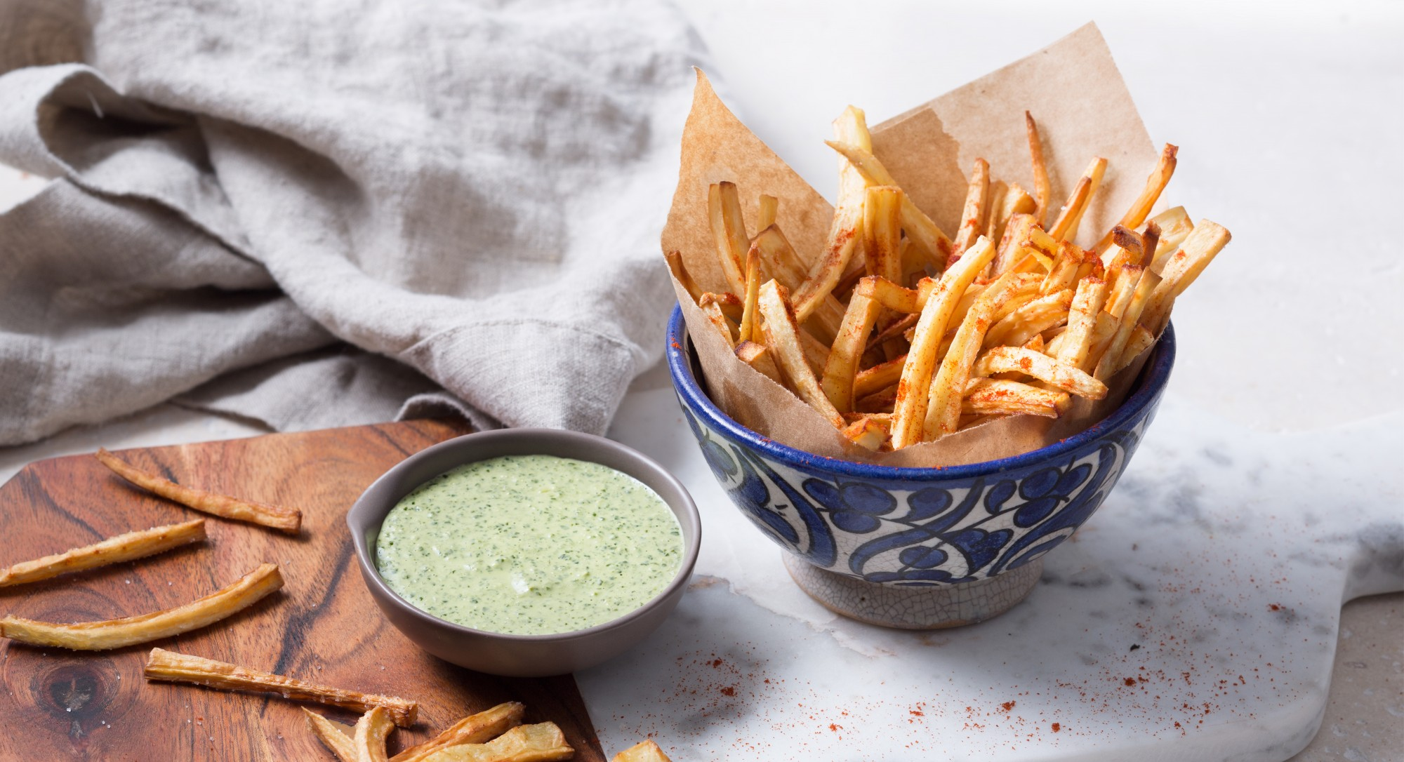 Who Needs Potatoes When You Can Make Crisp, Paleo-Friendly Parsnip Fries?