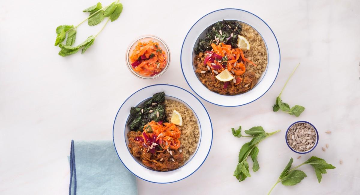 Yogi lentil bowl