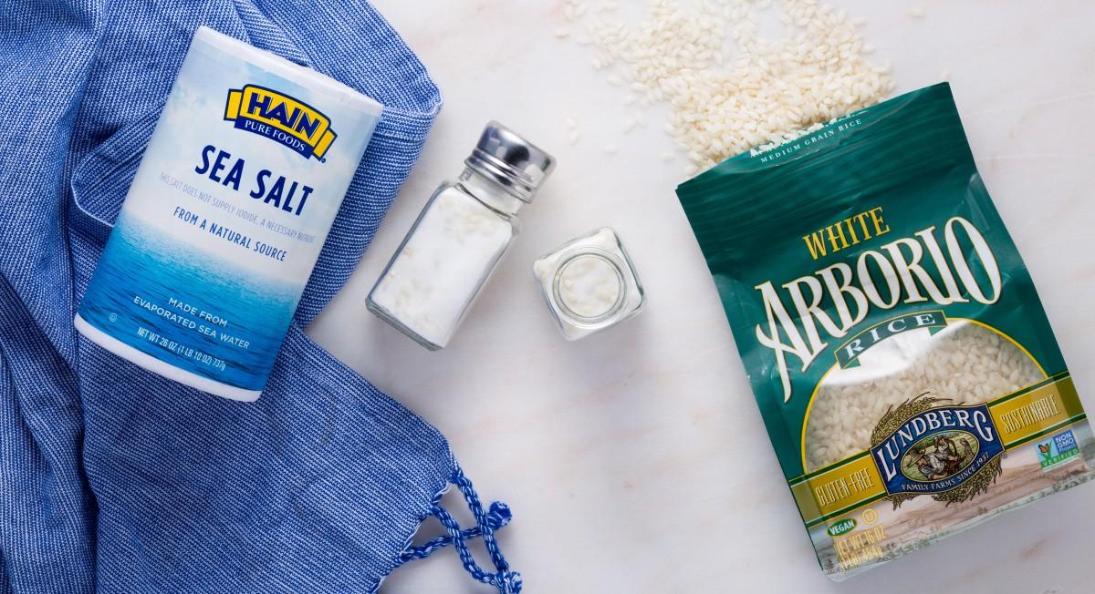Rice in the salt shaker