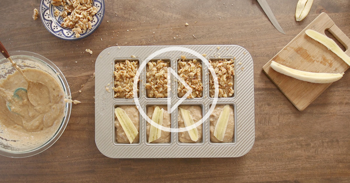 WATCH: This Gluten-Free Banana Bread Recipe is…Bananas!