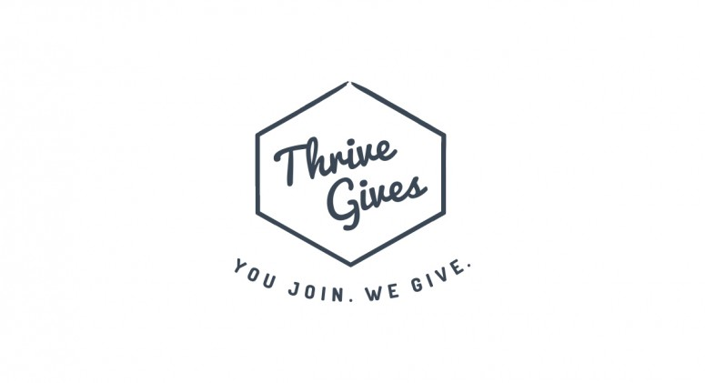 How 'Thrive Gives' Is Changing The Way America Eats