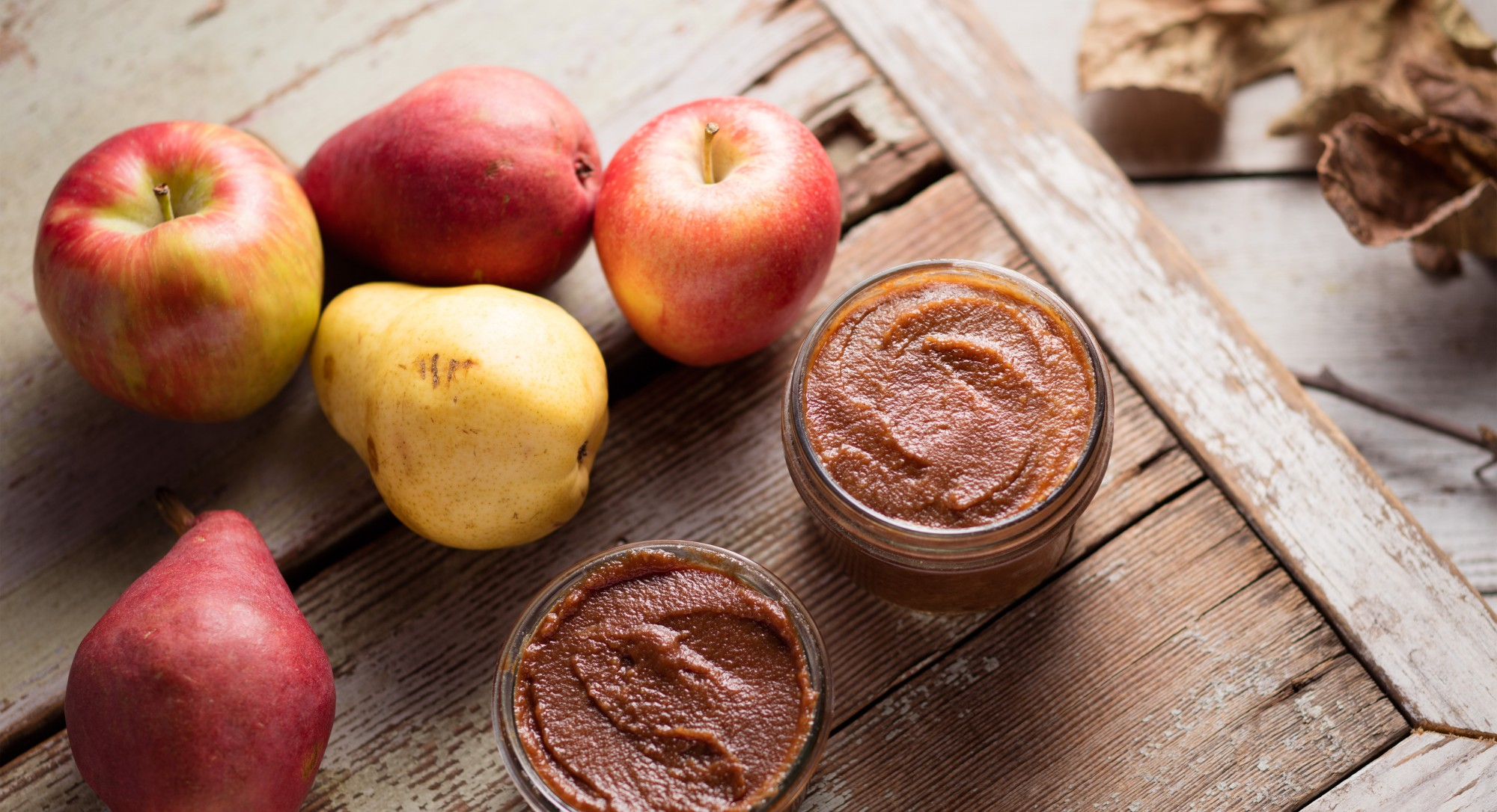 A Ridiculously Simple Recipe For Slow Cooker Apple-Pear Butter