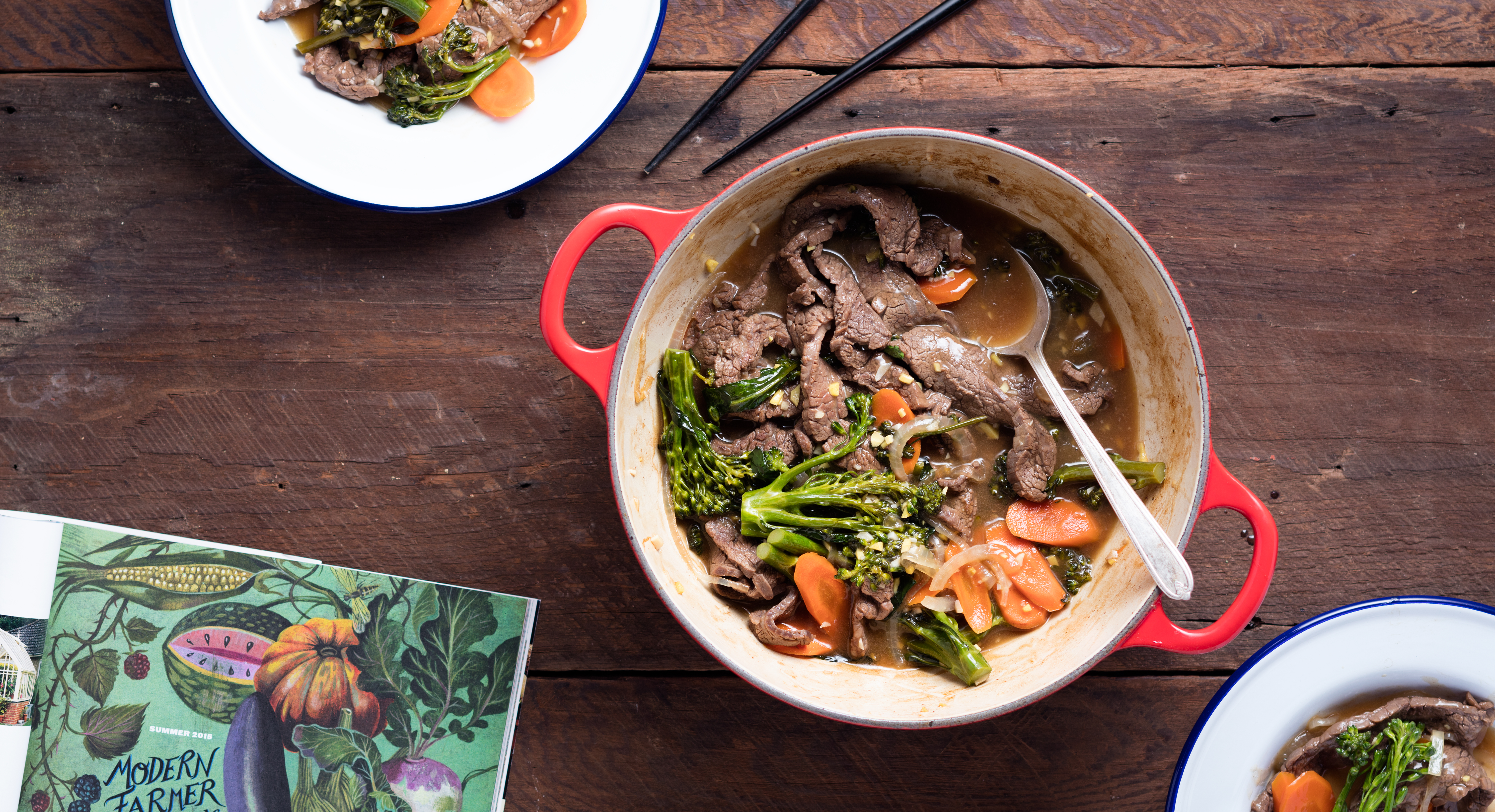 Dinner Tonight: Cook Up This Beef and Broccolini Stir-Fry In Just 30 Minutes