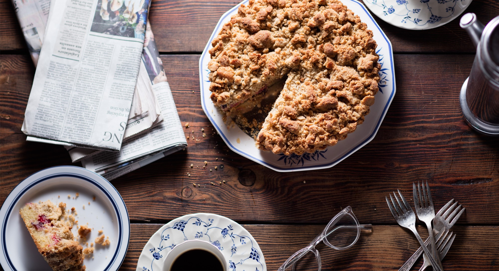 Italian Plum Coffee Cake Makes The Sweetest Mid-Afternoon Treat