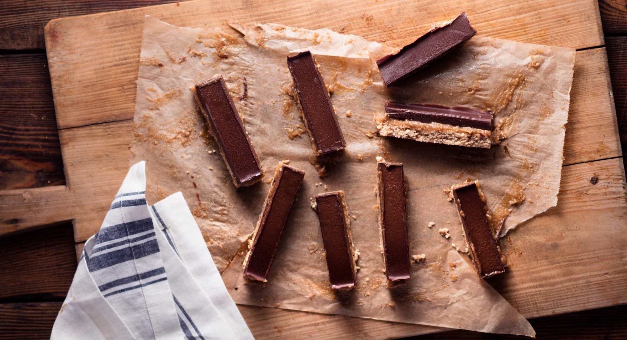 Cookies, Caramel, and Chocolate—We've Healthified a Classic Candy Bar