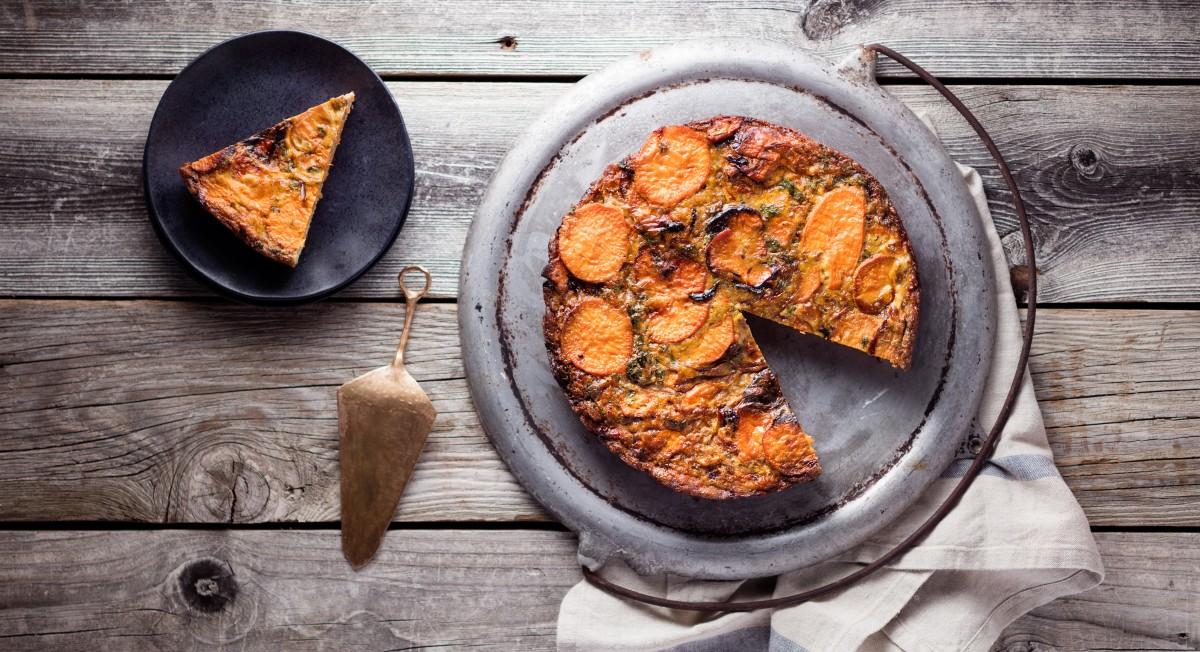 Sweet potato tortilla